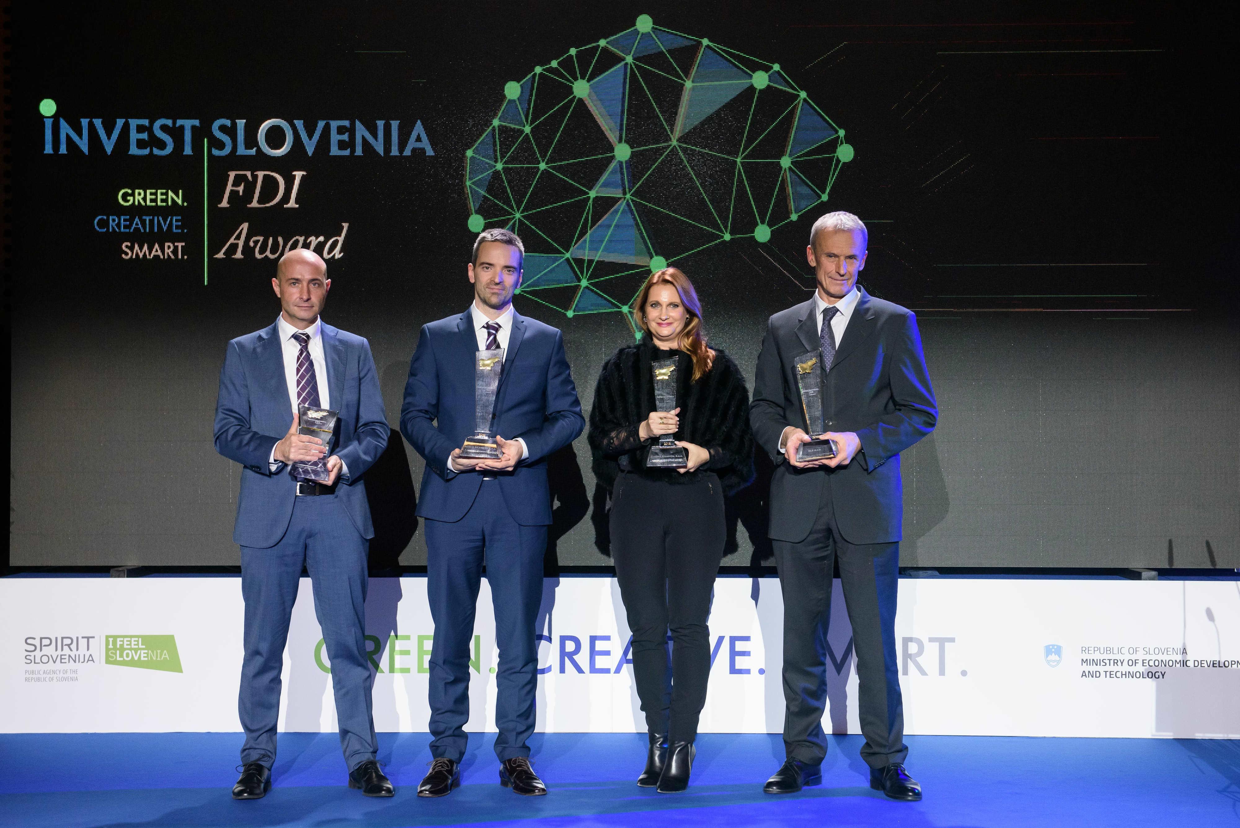 Najboljši tuji investitorji so podjetja RLS, Fraport Slovenija, Bosch Rexroth in cargo-partner